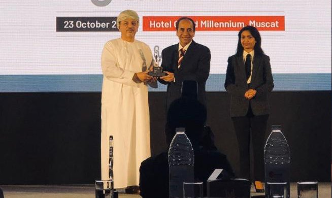(Aluminium Supplier Oman) Procurement Team of the Year' Award in OER Supply Chain Conference 2019.
